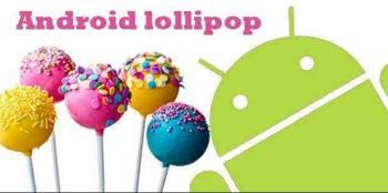 Android Lollipop, androide 5 de actualización