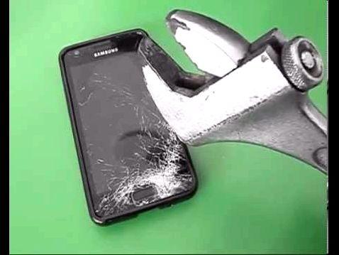 Crash Test, Samsung Galaxy Note 5