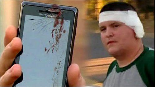 Drown smartphone, Samsung Galaxy S6, la coca-cola