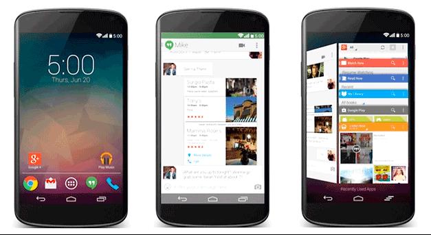 androide L, uno, google