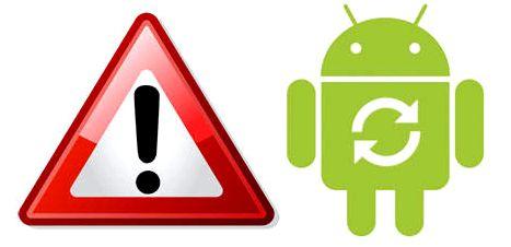 Error en Android df xx 2700 6fia