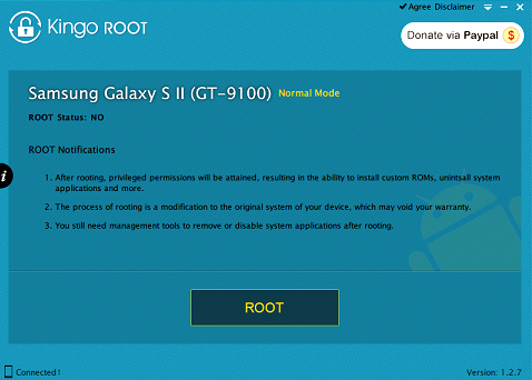Obtiene la Root Aquos 507SH de Sharp