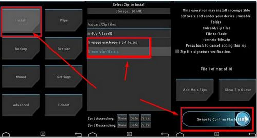 How to install the firmware on Asus ZenPad 7.0