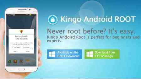 Kingo, Root, de un solo clic, el programa, una lista de dispositivos
