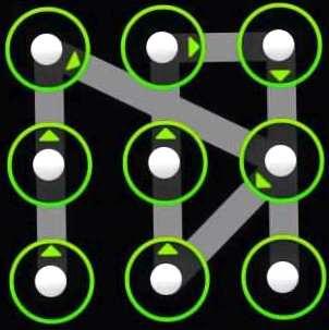 clave gráfico, desbloquear opciones, métodos y técnicas, la protección