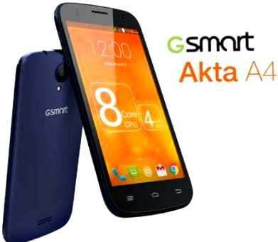 GSmart Akta A4, cómo erradicar, los derechos de root