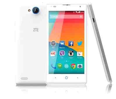 ZTE Blade G Lux, firmware ZTE, revisión de la ley de la Root