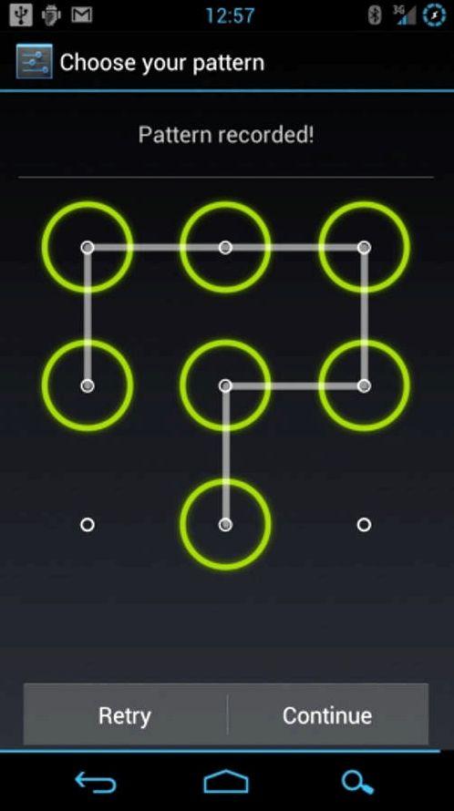 Restablecer clave en la tableta gráfica