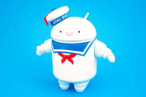 una lista de dispositivos, Marshmallow androide, panecillo