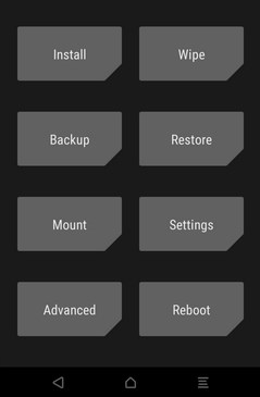 TWRP recovery how to flash ZTE Fanfare